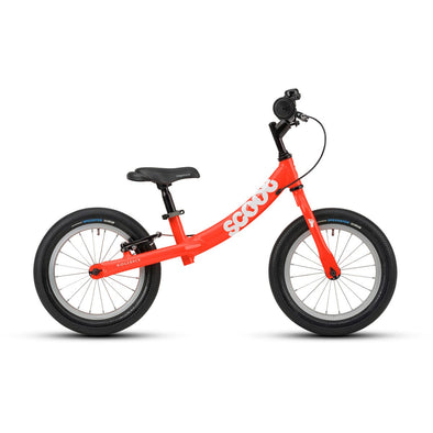 Ridgeback Scoot XL 14-Inch Balance Bike in Red