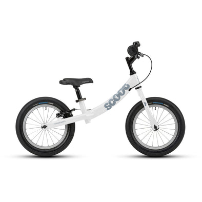 Ridgeback Scoot XL 14-Inch Balance Bike in White