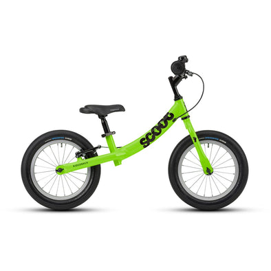 Ridgeback Scoot XL 14-Inch Balance BIke in Green-Tikes Bikes
