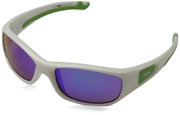 UVEX Eyewear 506 Sports Style Children's Eye Protection white/green