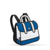 Stripe Backpack  Jump from Paper- Blue- Tikes Bikes