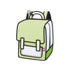 Greenery Spaceman Backpack - Influencer Collection -Tikes Bikes
