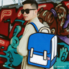 True Blue Spaceman Backpack - Influencer Collection -Tikes Bikes