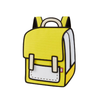 Minion Yellow Spaceman Backpack - Color Me In- Tikes Bikes