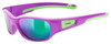 UVEX Eyewear 506 Sports Style Children's Eye Protection pink/green