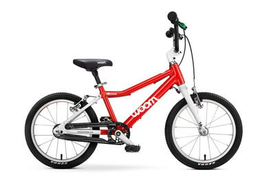 "WOOM 3 16"" Pedal Bike- red- Tikes Bikes"