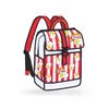Pop Art Backpack- Jump from Paper- popcorn red