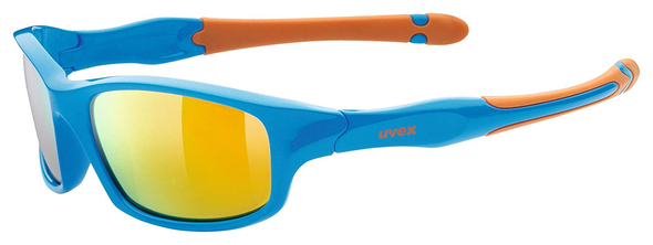 UVEX Eyewear 507 Sports Style Children's Eye Protection blue/orange