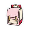 Spaceman Backpack - Coo Coo -Pink- Tikes Bikes