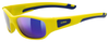 UVEX Eyewear 506 Sports Style Children's Eye Protection yellow/lm silver