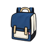 Spaceman Backpack - Coo Coo-Blue