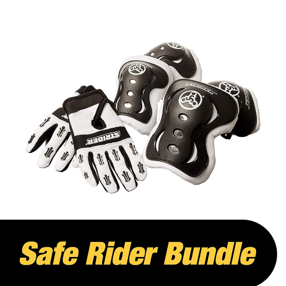 Strider - Safe Rider Bundle - Gloves, Knee Pads, Elbow Pads