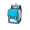 Spaceman Backpack Junior - Color Me In- Airy Blue- Tikes Bikes
