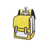 Spaceman Backpack Junior - Color Me In -Minion Yellow- Tikes Bikes