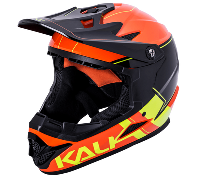 Kali Zoka Youth Switchback Full-Face Helmet Gloss Orange