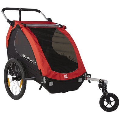 Burley Honey Bee Kids Bike Trailer Red