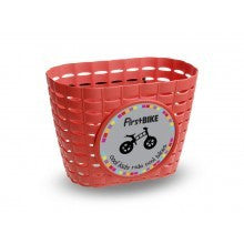 FirstBIKE Basket - Red - Tikes Bikes - 4