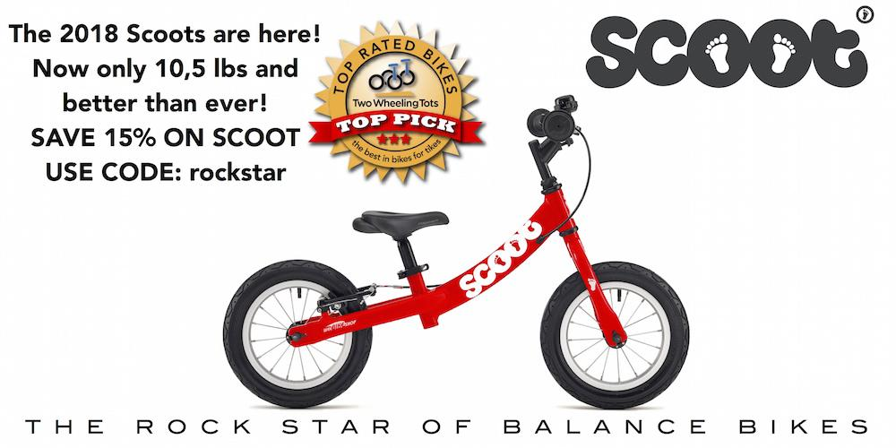 Scoot is the Rock Star of Balance Bikes