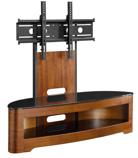 Jual Walnut Cantilever TV Stand