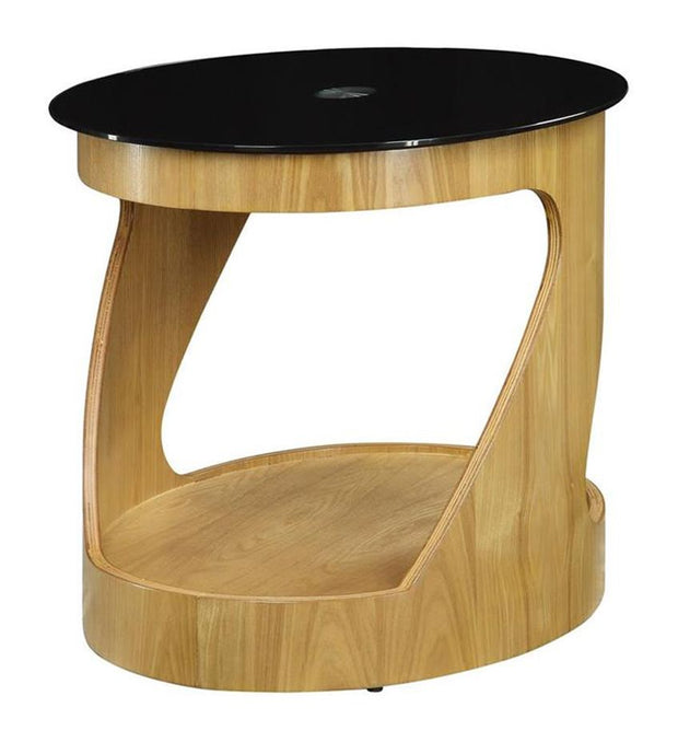 Jual Oak Lamp Table