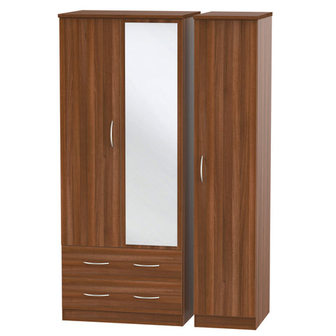 Avon 3 Door 2 Left Drawer Combi Wardrobe