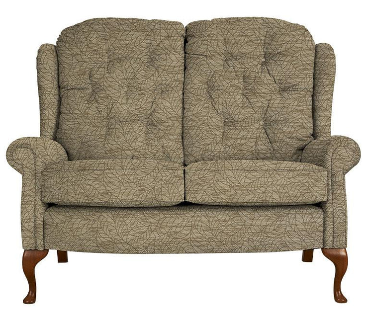 Celebrity Woburn Legged Fabric Fixed 2 Seat Settee (Colour Change)