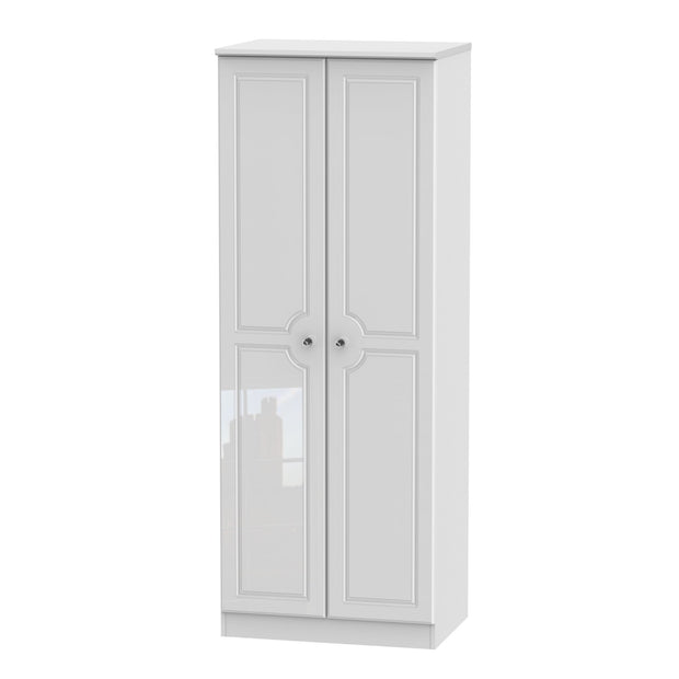 Balmoral 2 Door Tall Wardrobe