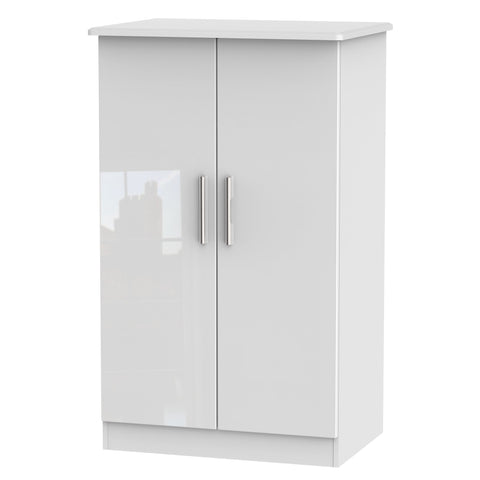 Knightsbridge 2ft 6in Plain Midi Wardrobe