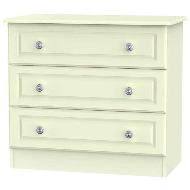Pembroke 3 Drawer Wide Chest