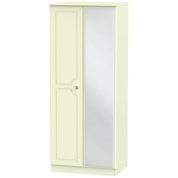 Pembroke 2 Door Mirror Wardrobe
