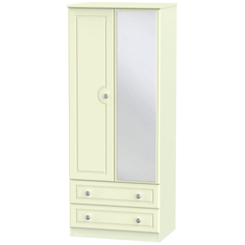 Pembroke 2 Door Mirror Combi Wardrobe