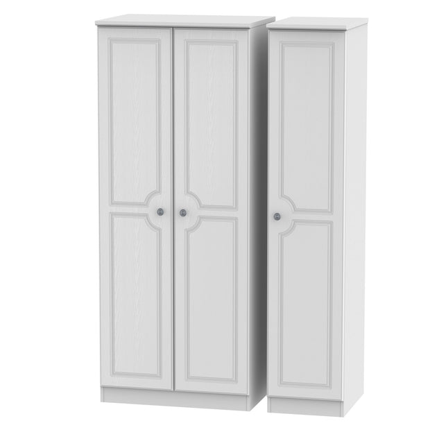 Pembroke 3 Door Plain Wardrobe