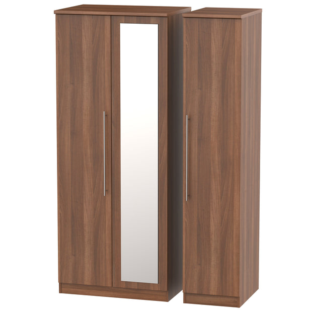 Sherwood 3 Door Mirror Wardrobe