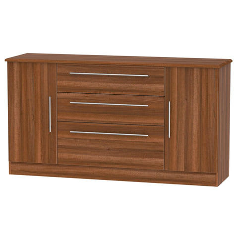 Sherwood 2 Door 3 Drawer Wide Sideboard
