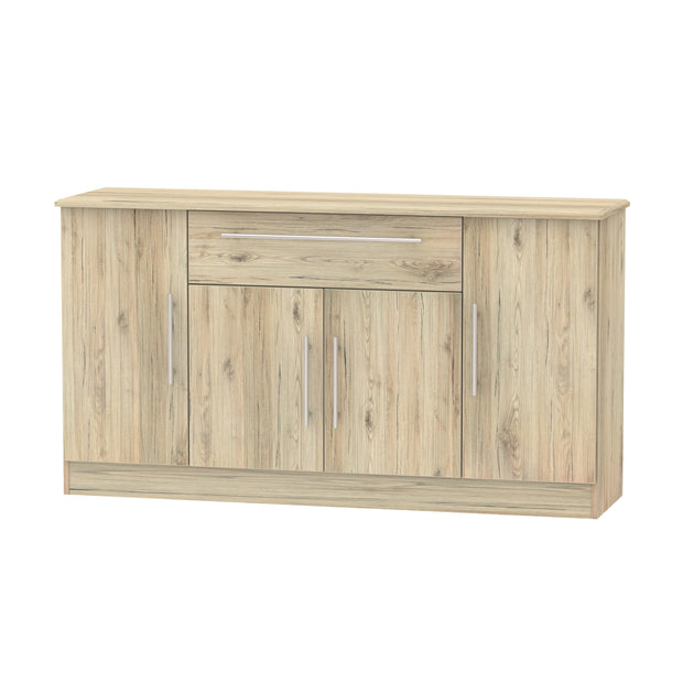 Sherwood 4 Door 1 Drawer Wide Sideboard