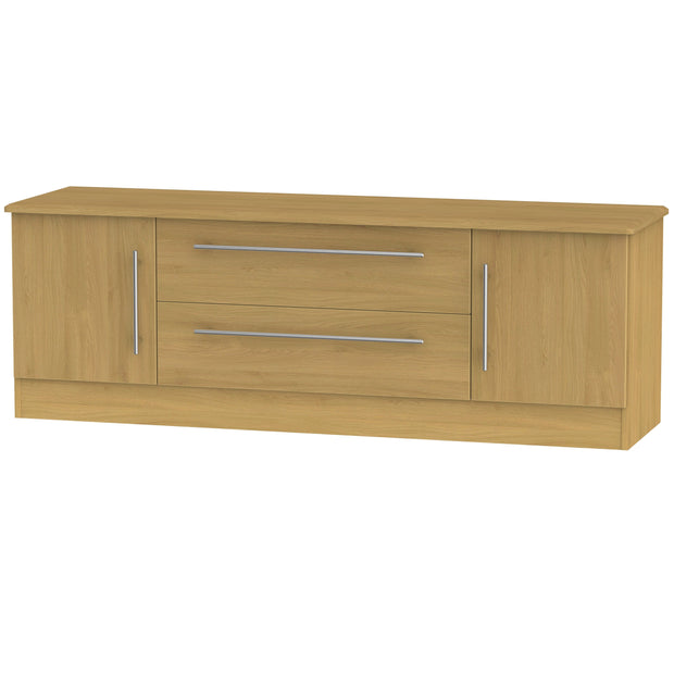 Sherwood 2 Door 2 Drawer Wide TV Unit