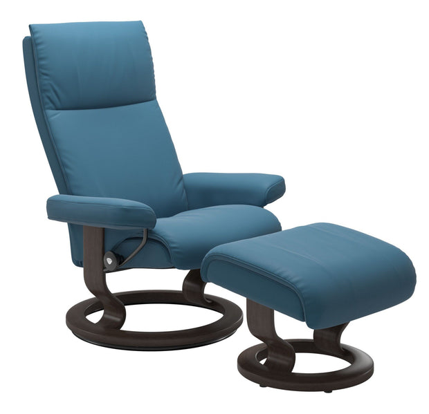Stressless Aura Classic Chair with Footstool