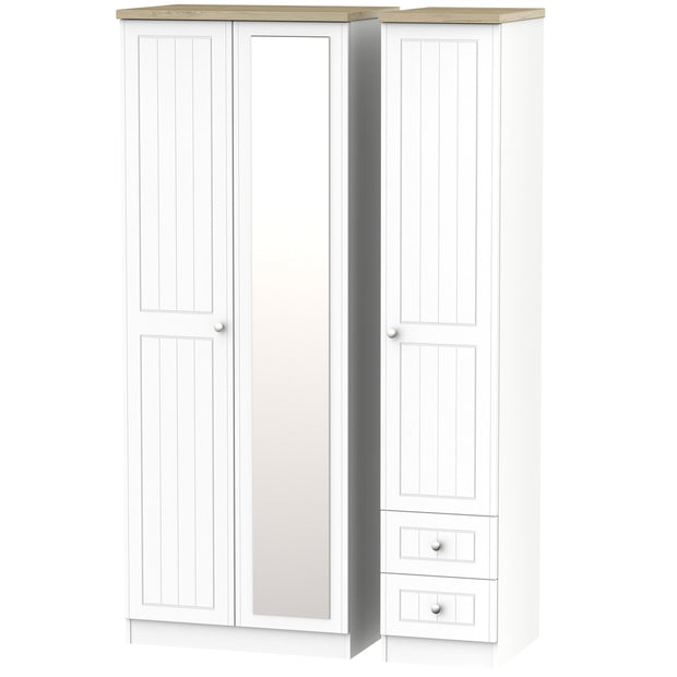 Vienna 3 Door 2 Drawer Tall Combi Wardrobe