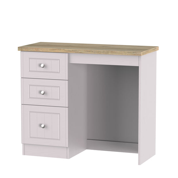 Vienna Single Pedestal Dressing Table