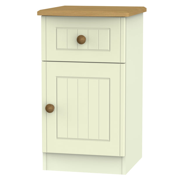 Warwick 1 Door 1 Drawer Bedside Cabinet