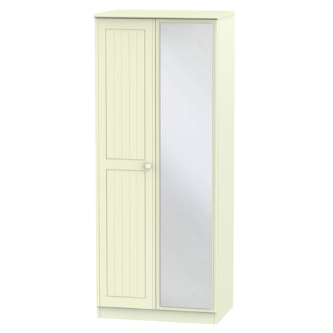 Warwick 2 Door Mirror Wardrobe