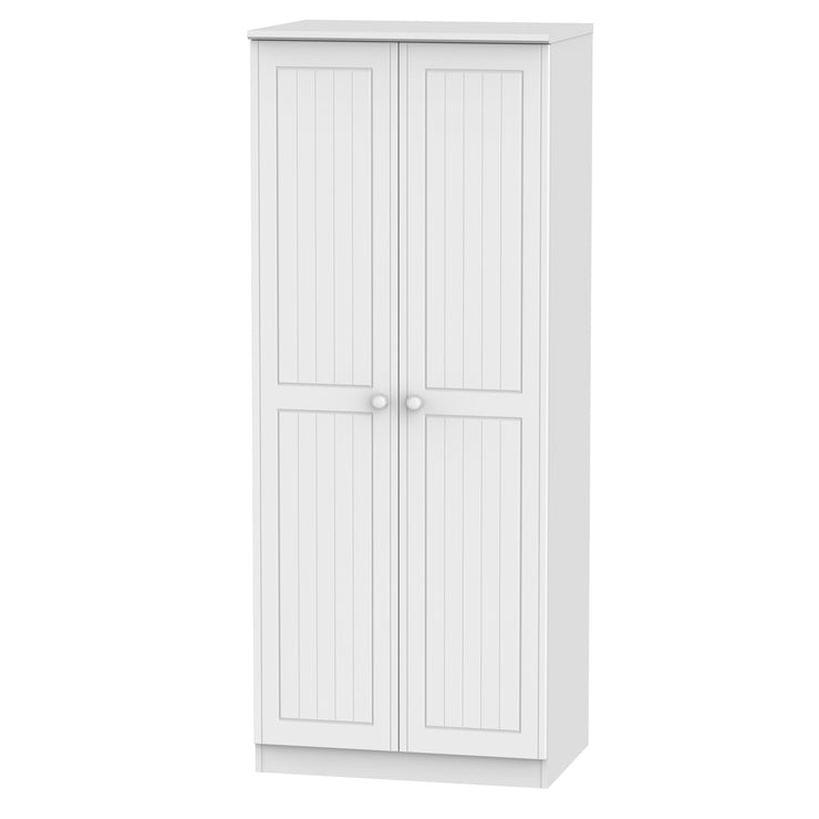 Warwick 2 Door Plain Wardrobe