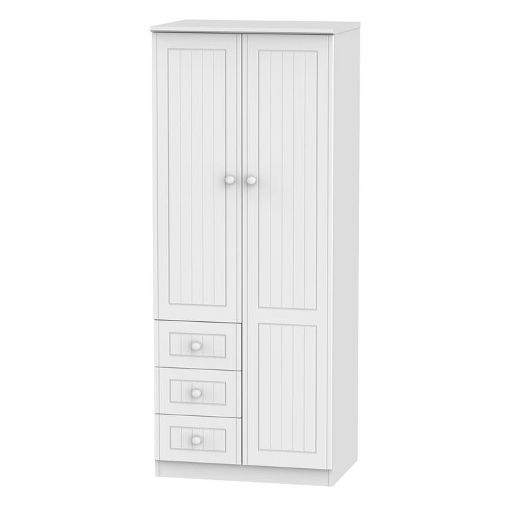 Warwick 2 Door 3 Drawer Wardrobe