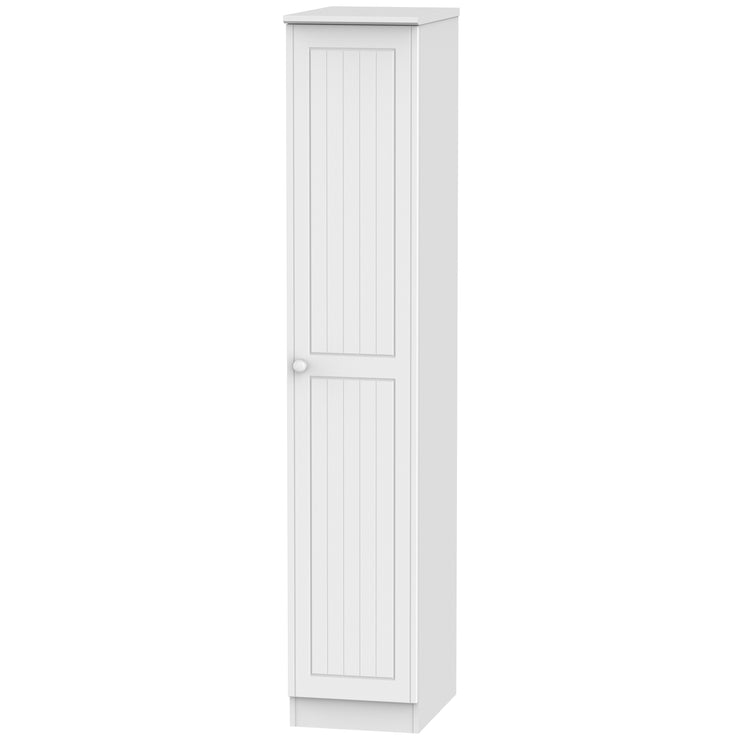 Warwick 1 Door Tall Plain Wardrobe
