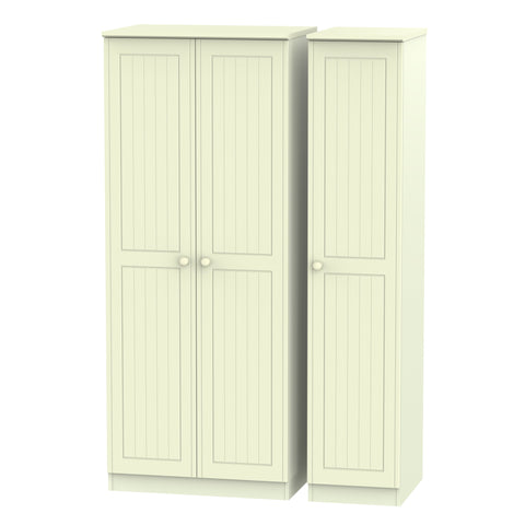 Warwick 3 Door Plain Wardrobe