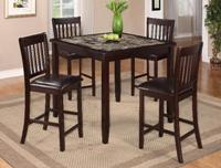 [Crown Mark] Cascade Counter Height Dining Set (2740)