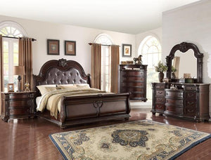 [Crown Mark] Stanley Bedroom Set, Queen (B1600)