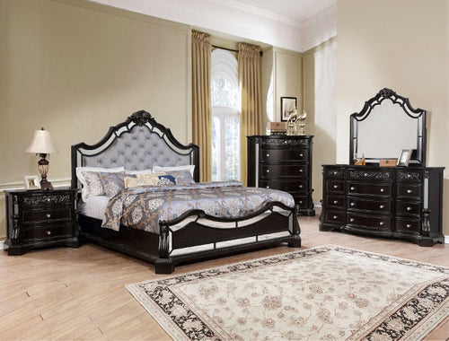[Crown Mark] Bankston Bedroom Set, King (B1660)