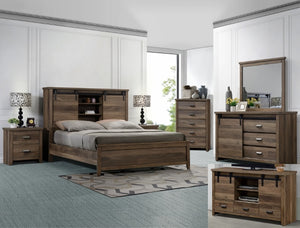 [Crown Mark] Calhoun Bedroom Set, Queen (B3000)
