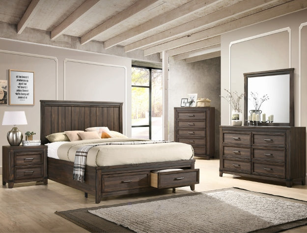 [Crown Mark] Presley Bedroom Set, Queen (B3150)